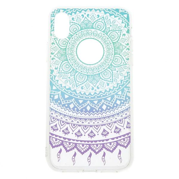 Claire's - pastelboho phone case - 1