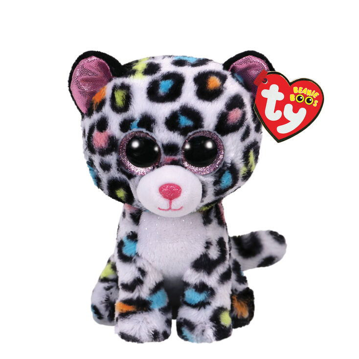 Ty Beanie Boo Small Tilley the Leopard Plush Toy  d63167609f7a