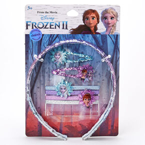 ©Disney Frozen 2 Hair Accessories Set – 7 Pack, Purple,