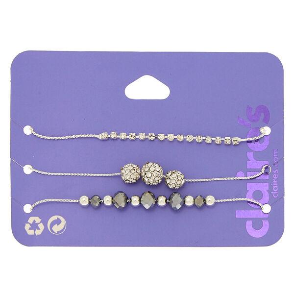 Claire's - fireball bead adjustable bracelets - 1