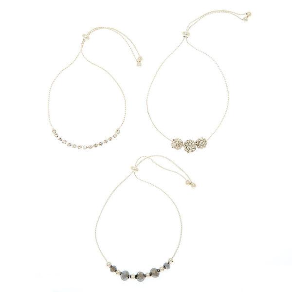 Claire's - fireball bead adjustable bracelets - 2