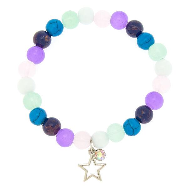 Claire's - marble star stretch bracelet - 1
