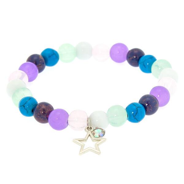 Claire's - marble star stretch bracelet - 2
