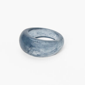 Marble Dome Ring - Blue,