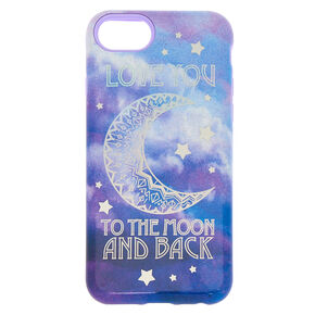 Love You to the Moon and Back Protective Phone Case - Fits iPhone 6/7/8/SE,