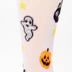 Chaussettes icônes Halloween - Blanc,
