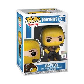 Figurine en vinyle marron Raptor de Fortnite,