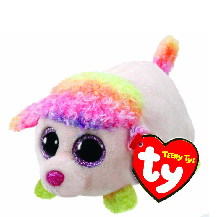 Teeny Ty Floral The Poodle Plush Toy,
