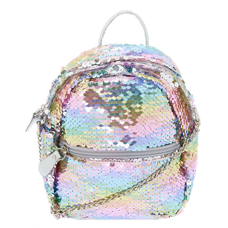 4a5ef364a7a3 Reversible Sequin Mini Backpack Crossbody Bag - Rainbow