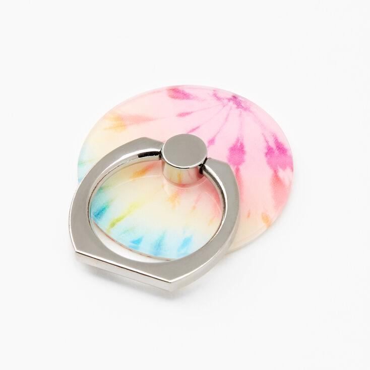 Support anneau tie-dye pastel,