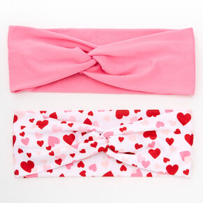 Valentine's Day Twisted Headwraps - 2 Pack,