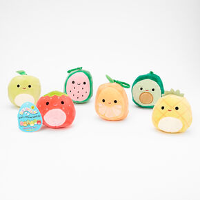 "Squishmallows™ 3"" Fruit Keyring Clip - Styles May Vary,"