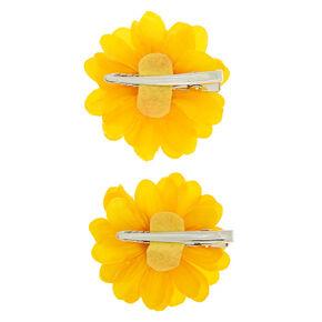 Sunflower Hair Clips - 2 Pack,