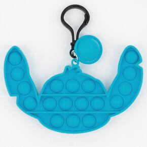 Pop Poppers ©Disney Stitch Fidget Toy Keychain – Blue,