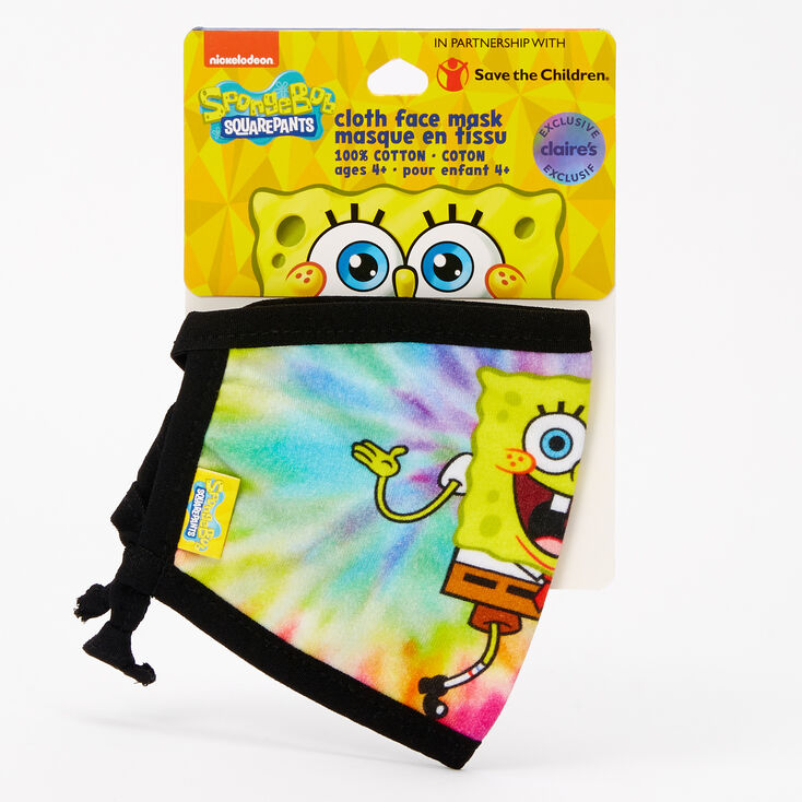 SpongeBob SquarePants Face Mask – Adjustable,
