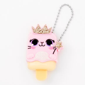 Pucker Pops Cat Queen Lip Gloss - Strawberry Cream,
