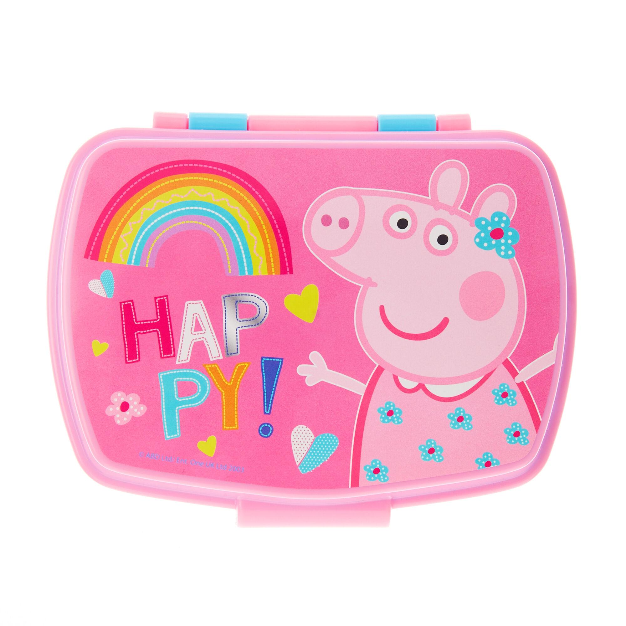 Peppa Pig Happy Rainbow Lunch Box, ...