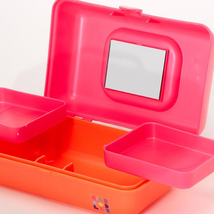 Caboodles® Pretty In Petite™ Classic Makeup Case - Pink/Orange,
