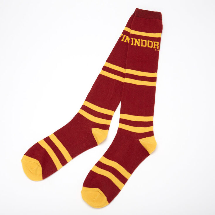 Harry Potter™ Gryffindor High Knee Socks – Burgundy,