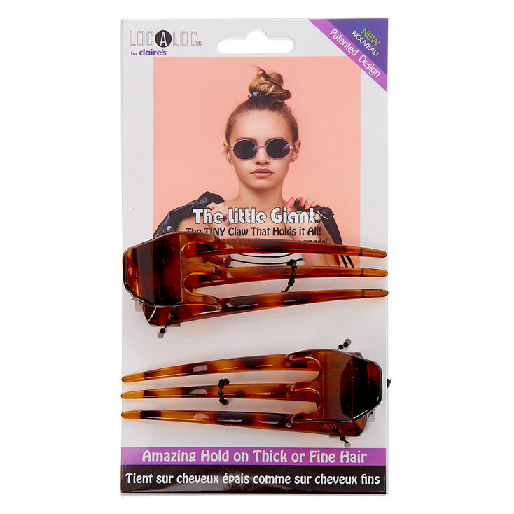 The Little Giant™ Tortoiseshell Hair Claw - 2 Pack,