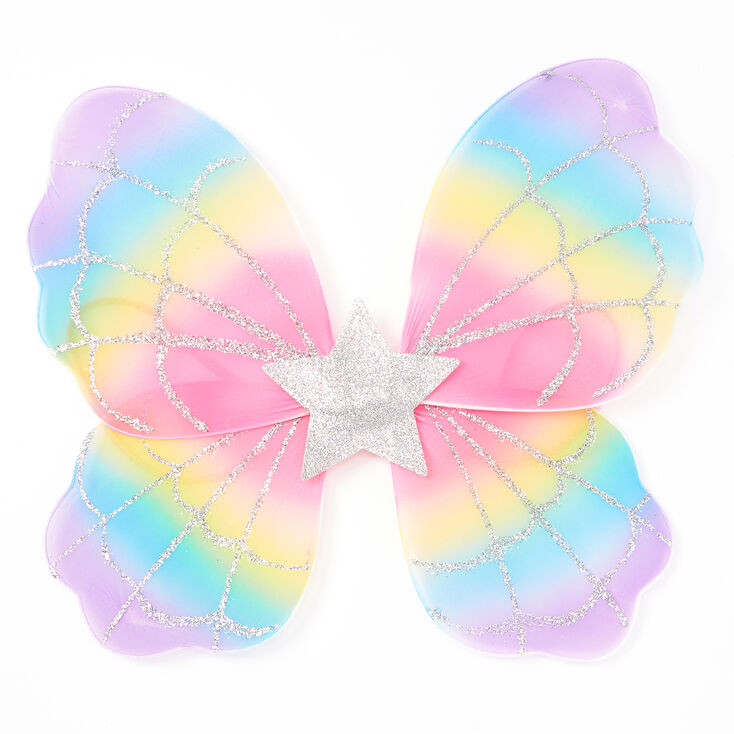Claire's Club Rainbow Star Wings,
