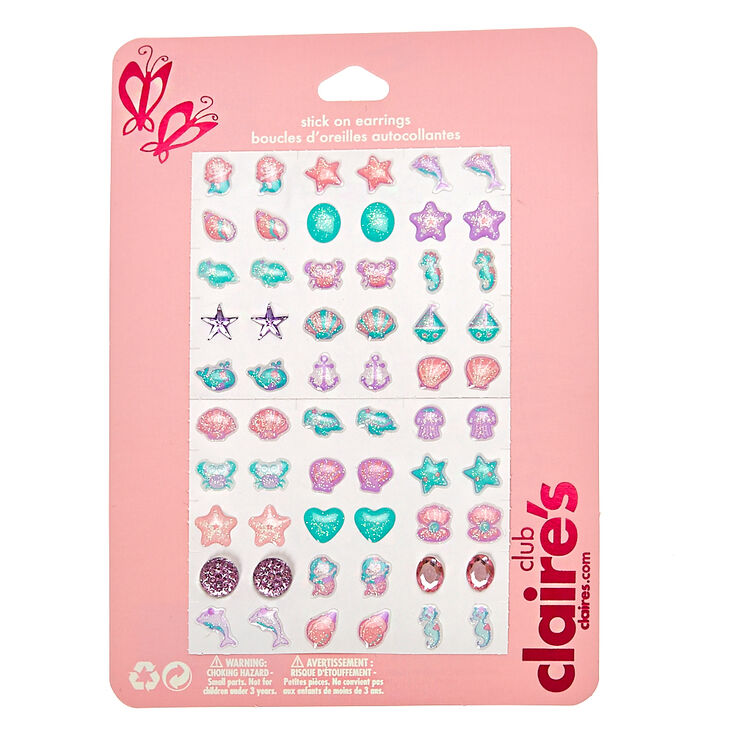 e07562732965 Kids Under the Sea Stick-on Earrings Set