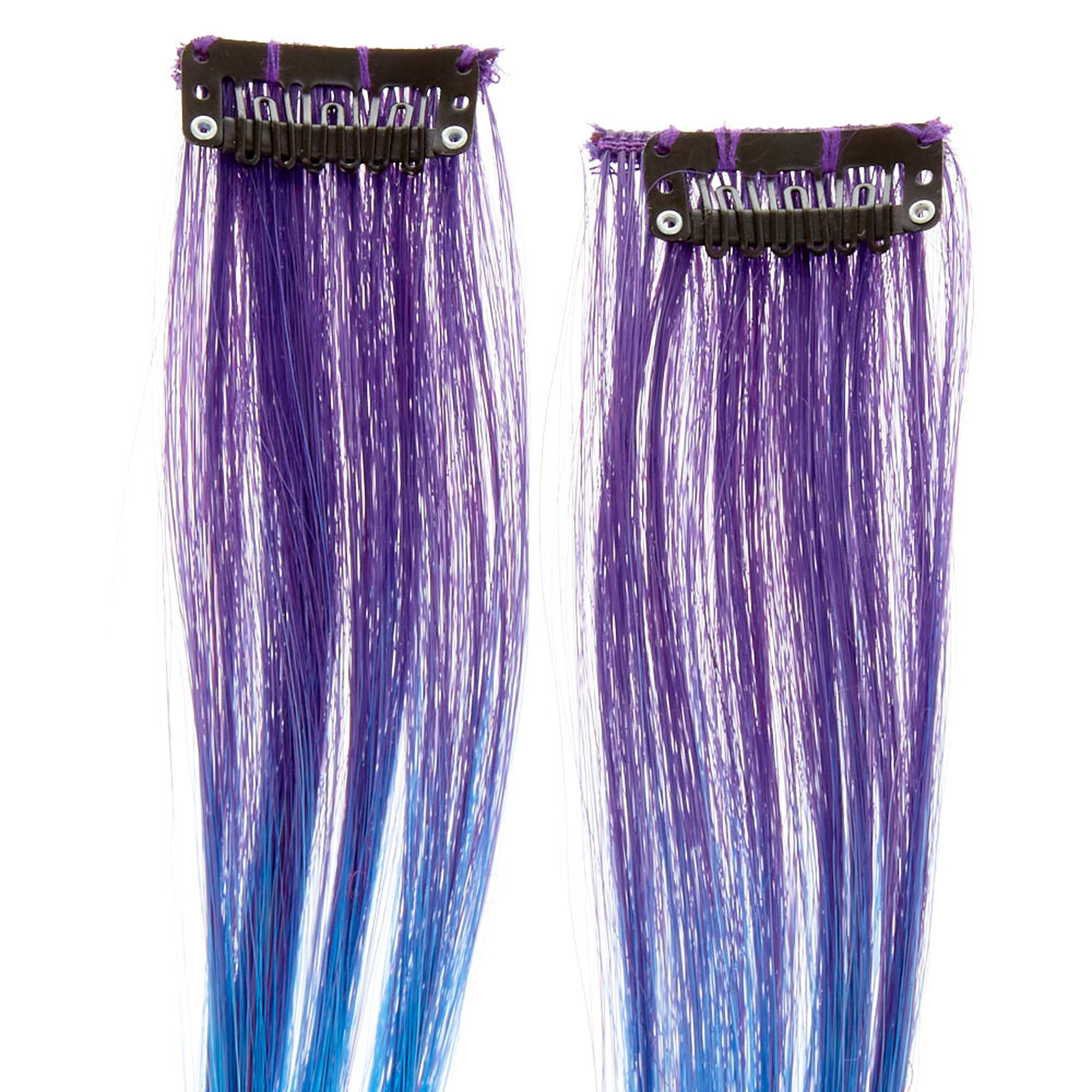 Mermaid Ombre Dash Faux Hair Extensions Claires Us