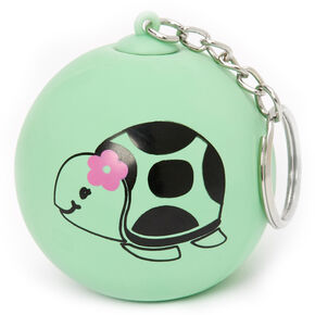 Tessa the Turtle Stress Ball Keychain - Green,
