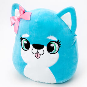 "Squishmallows™ 12"" Puppy Dog Plush Toy - Aqua,"