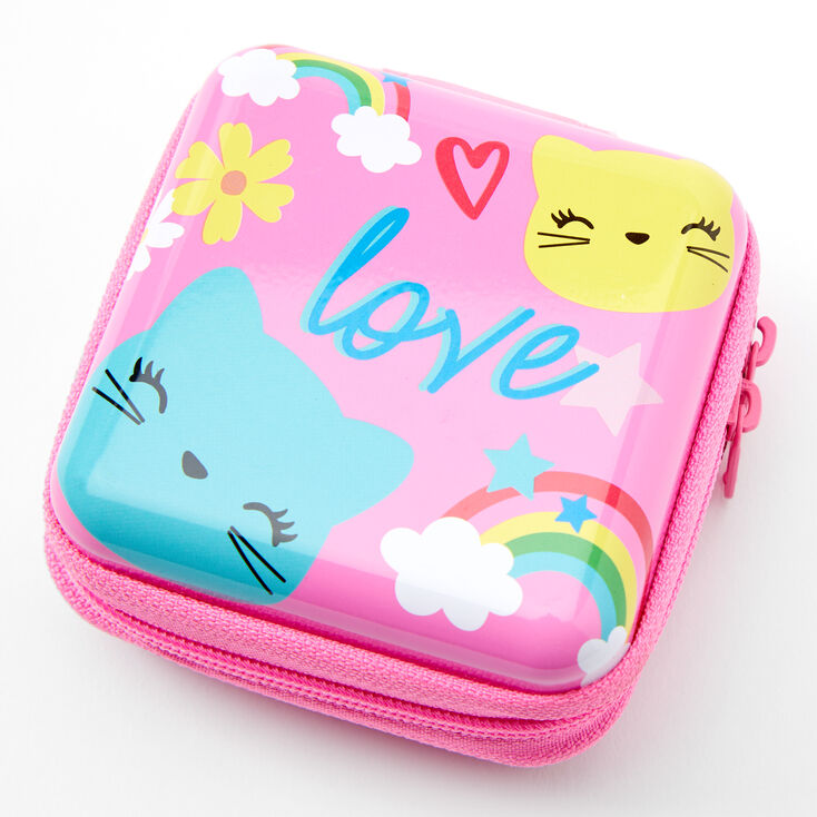 Claire's Club Kitty Love Makeup & Tin Set - Pink,