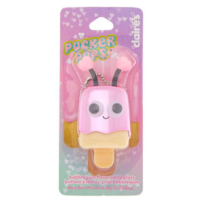 Pucker Pops Pink Deely Bopper Lip Gloss - Bubblegum,