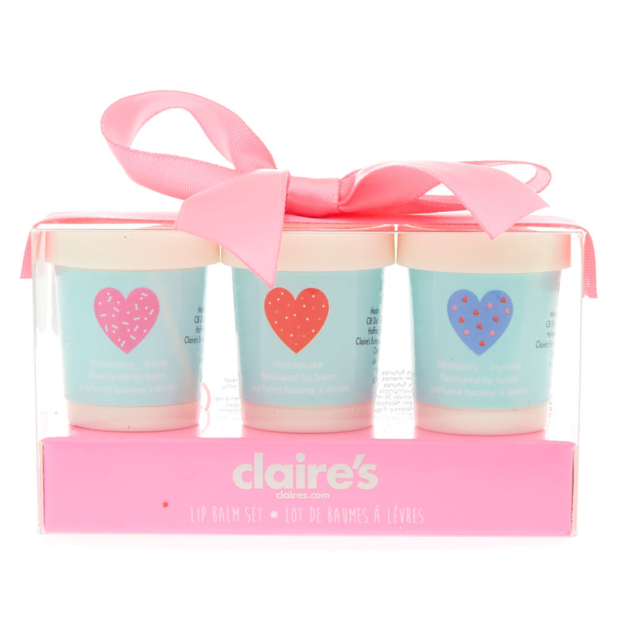 Kids 3-Pack Sprinkles Lip Balm Set | Claire\'s US