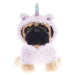Doug the Pug ™ Medium Llamacorn Soft Toy - Cream,