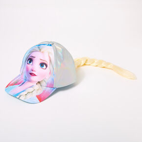 ©Disney Frozen 2 Elsa Baseball Cap With Hair,