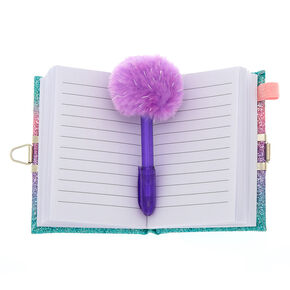 Claire's Club Rainbow Butterfly Lock Diary,