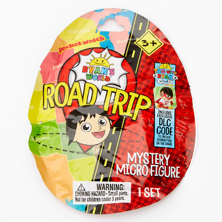 Ryan's World™ Road Trip Mystery Micro Figure Bling Bag - Styles May Vary,