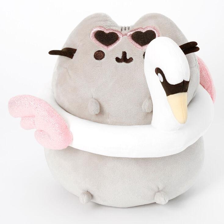 Pusheen® Swan Floatie Medium Plush Toy - Gray,