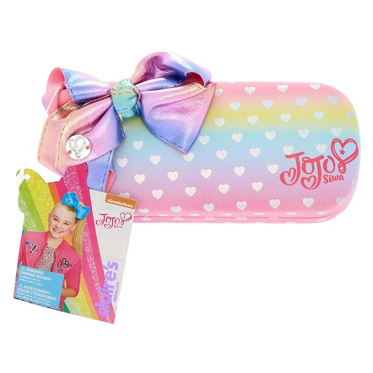 6dbe6b18a JoJo Siwa™ Rainbow Hearts Mini Sunglasses Case | Claire's US