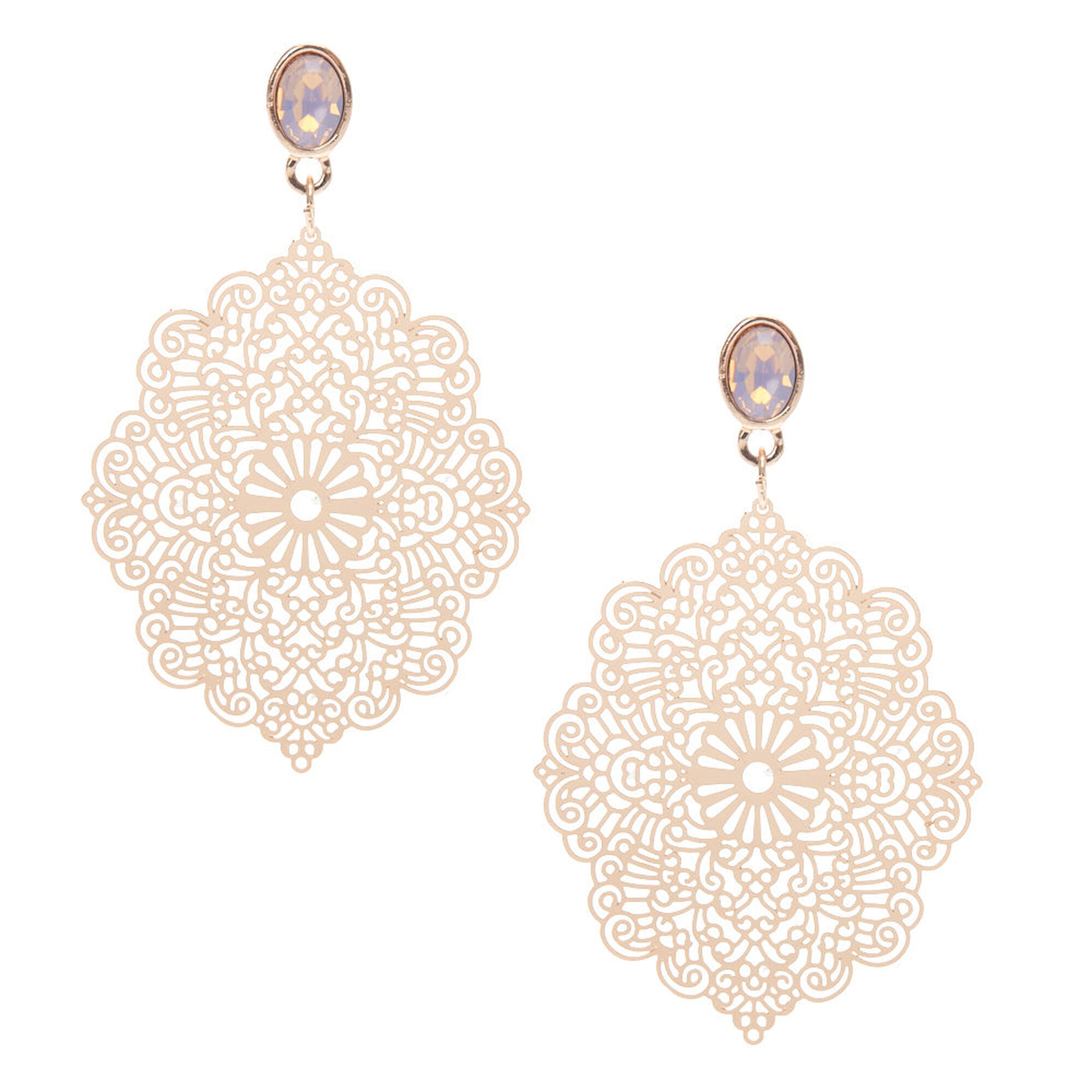 earrings silver filigree product