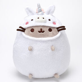 Pusheen® Unicorn Onesie Soft Toy – White,