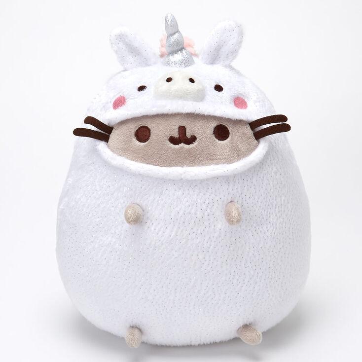 Pusheen® Unicorn Onesie Soft Toy – White,
