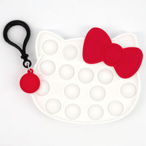 Pop Poppers Hello Kitty® Fidget Toy Keychain – White,