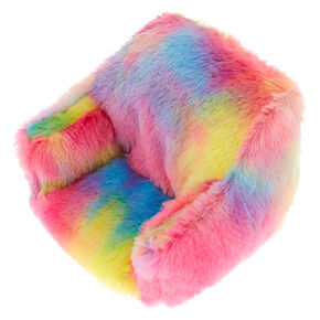 Rainbow Plush Phone Chair,