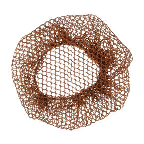 Mesh Bun Net - Brown,