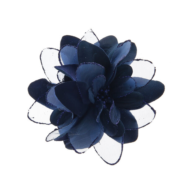 Claire's - lilly flower feather hair clips - 1