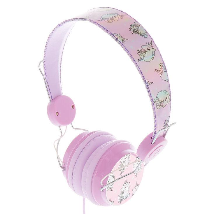Holographic Unicorn Headphones,