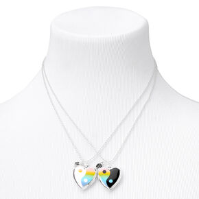 Best Friends Yin-Yang Necklaces - 2 Pack,
