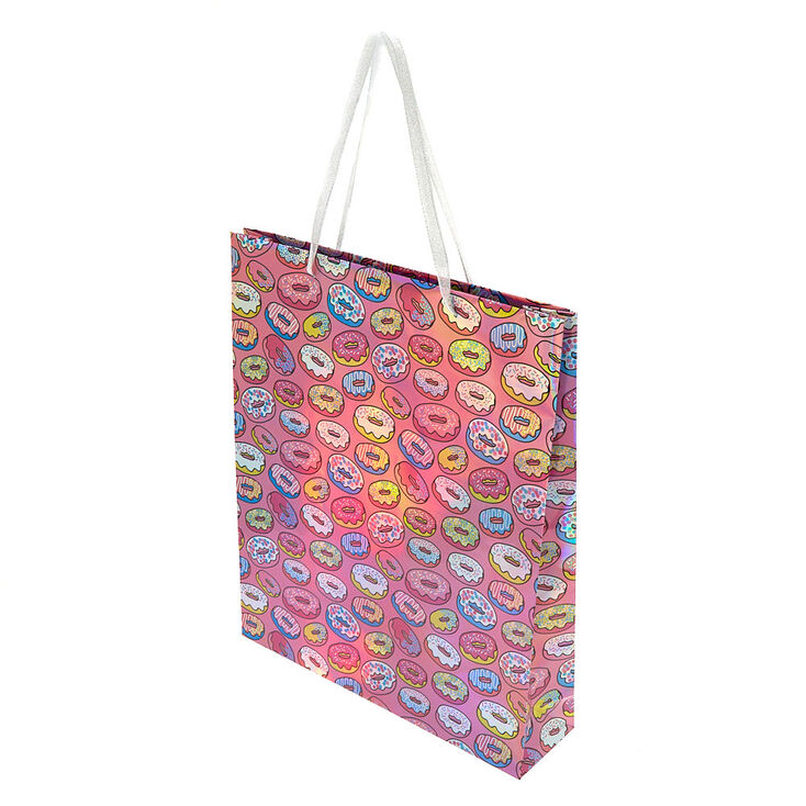 Extra Large Donut Gift Bag - Pink,