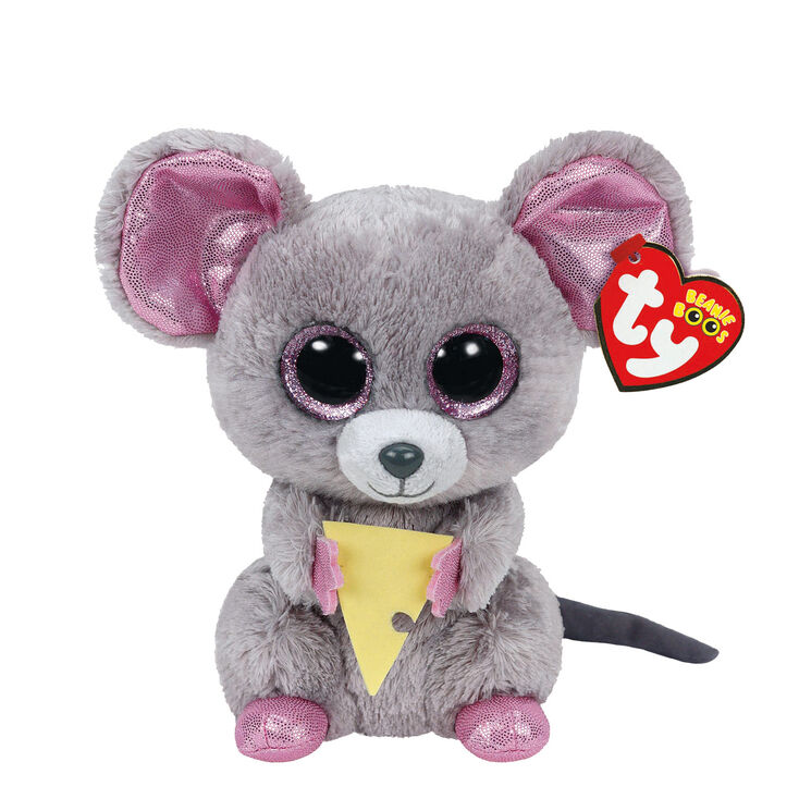 Ty Beanie Boos Small Squeaker The Mouse Soft Toy Claire S