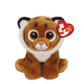 Ty Beanie Baby Small Tiggs the Tiger Plush Toy,